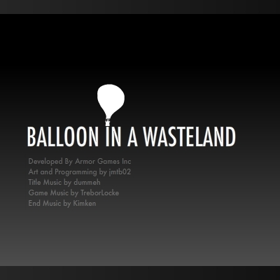 Balloon in a Wasteland